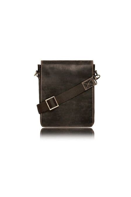 visconti leather messenger bag